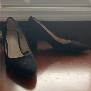 H&M chunky heel dress shoes
